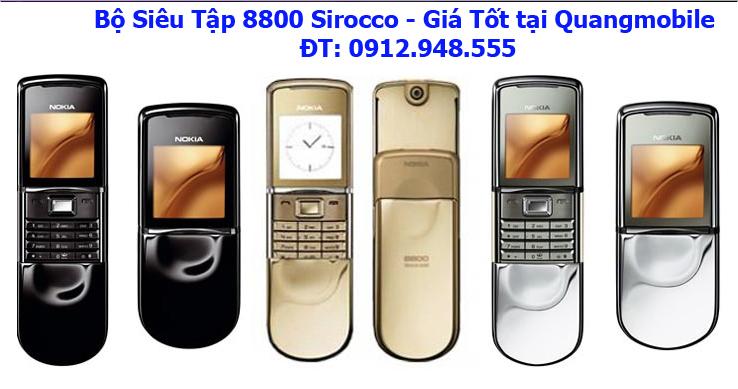 Chuyên Nokia 8800 sirocco,nokia 8600 luna, giá tốt nhất