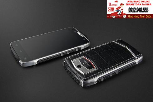 Dco t5 , Điện thoại sang trọng nắp lưng bọc da cao cấp, cấu hình khủng